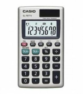 CASIO SL-797TV-GD Elektronik Hesap Makinesi